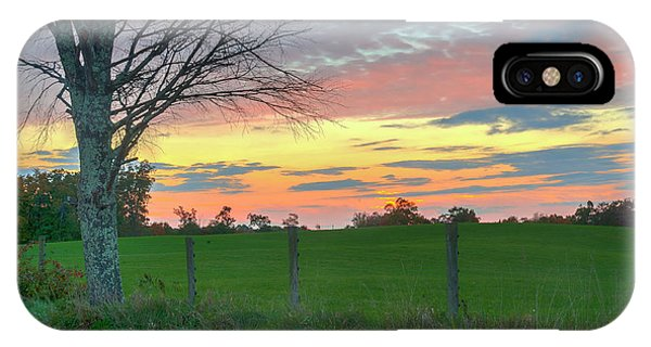 IPhone Case featuring the photograph Tennessee Sunset by David Waldrop