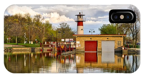 Tenney Lock - Madison - Wisconsin IPhone Case