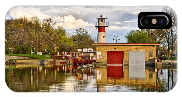 Tenney Lock - Madison - Wisconsin IPhone Case
