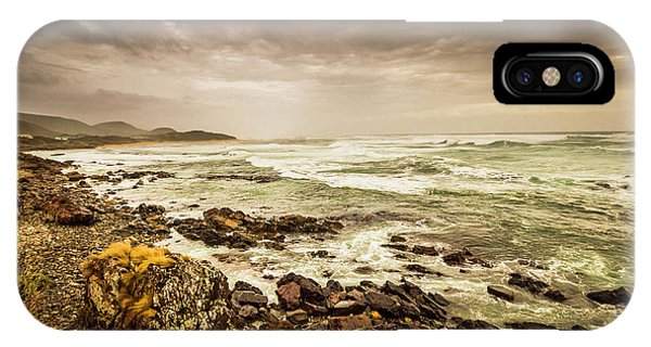 Trial iPhone Case - Tense Seas by Jorgo Photography - Wall Art Gallery