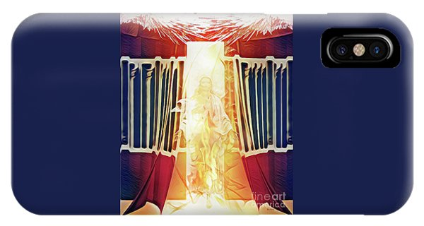 IPhone Case featuring the digital art Tent Of Meeting by Jennifer Page