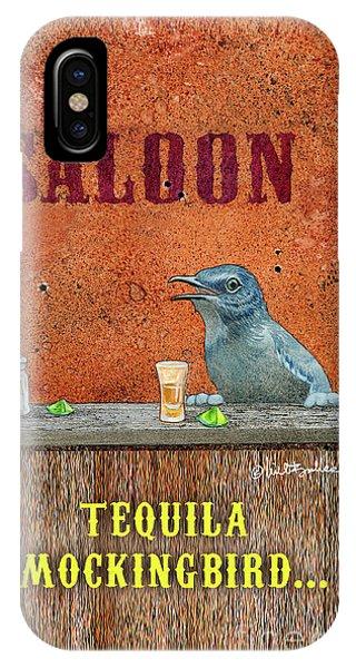 Tequila Mockingbird... IPhone Case