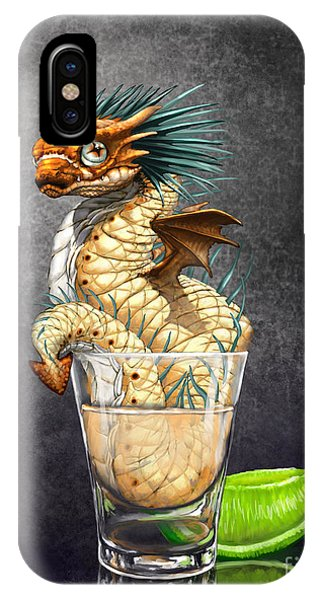 Tequila Wyrm IPhone Case