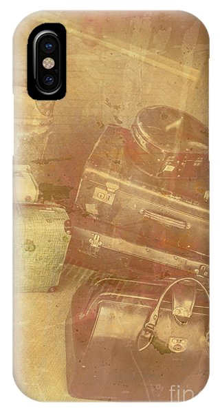 Damage iPhone Case - Terminal Goodbye by Jorgo Photography - Wall Art Gallery