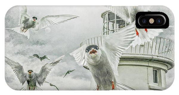 Tern Attack IPhone Case
