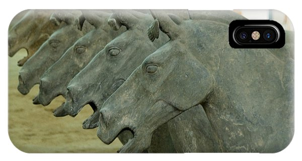Terra Cotta Horses IPhone Case