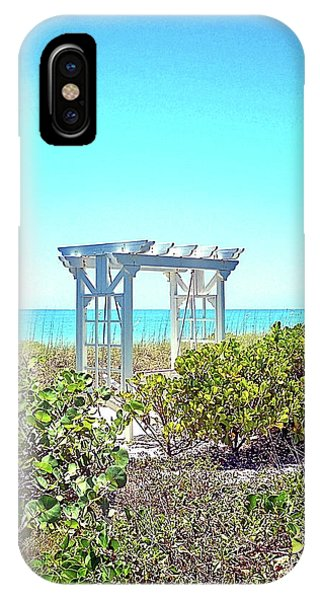 iPhone Case - Terrace On The Beach I by Chris Andruskiewicz