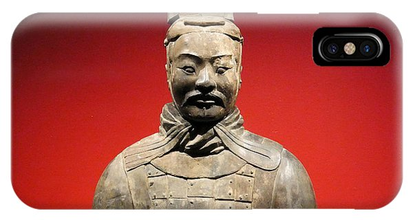 IPhone Case featuring the photograph Terracotta Warrior Army Of Qin Shi Huang Di I by Richard Reeve
