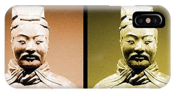 Terracotta Warrior Army Of Qin Shi Huang Di - Royg IPhone Case