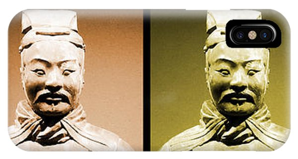 IPhone Case featuring the photograph Terracotta Warrior Army Of Qin Shi Huang Di - Royg by Richard Reeve