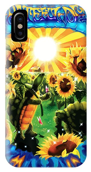 Fare iPhone Case - Terrapin Sun Flowers by The Turtle