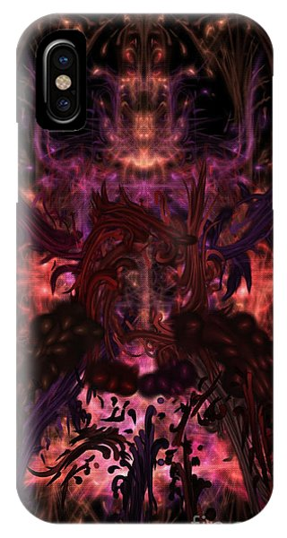 IPhone Case featuring the digital art Terrible Certainty by Reed Novotny