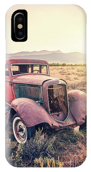 Wreck iPhone Case - Rusty by Delphimages Photo Creations
