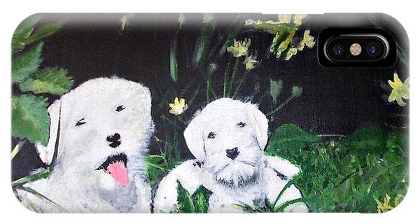 Terriers' Farm Pals. IPhone Case
