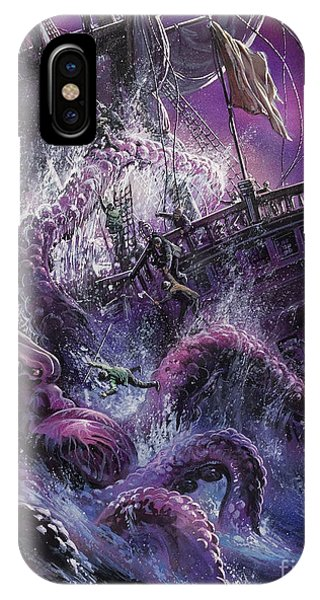 Terror From The Deep IPhone Case
