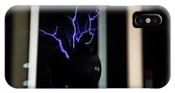 Tesla Coil 2 IPhone Case