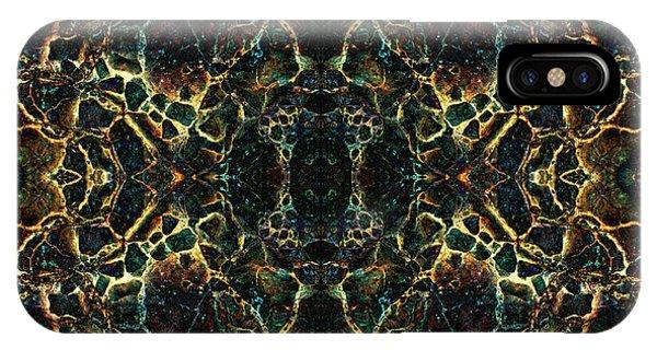 IPhone Case featuring the digital art Tessellation V by David Gordon