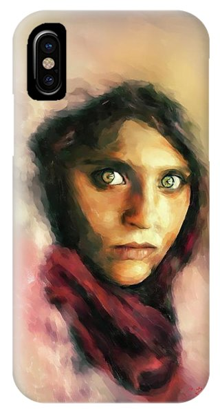 Afghan Girl IPhone Case