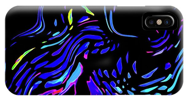 IPhone Case featuring the digital art Toccata by Gina Harrison