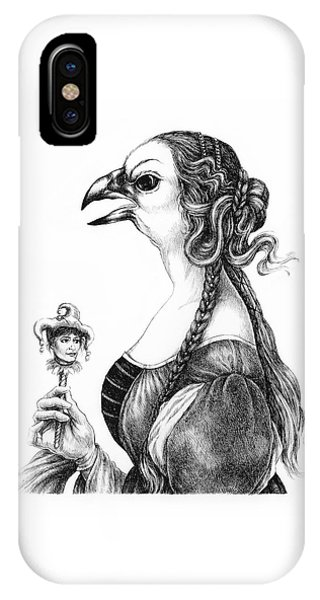 Tete-a-tete With Botticelli IPhone Case