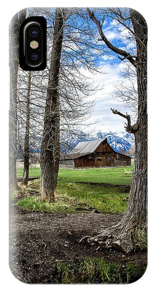 IPhone Case featuring the photograph Moulton Barn On Mormon Row by Scott Read