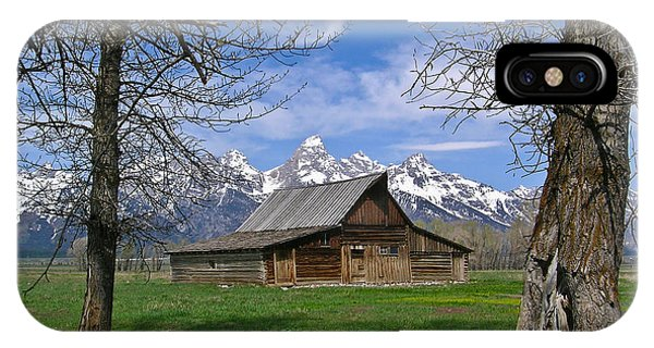 Teton Barn IPhone Case