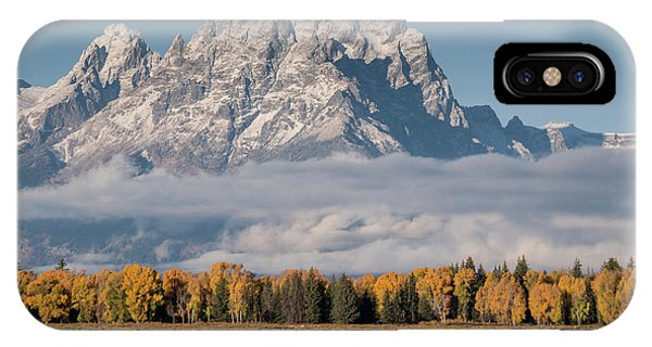 Teton Horses IPhone Case