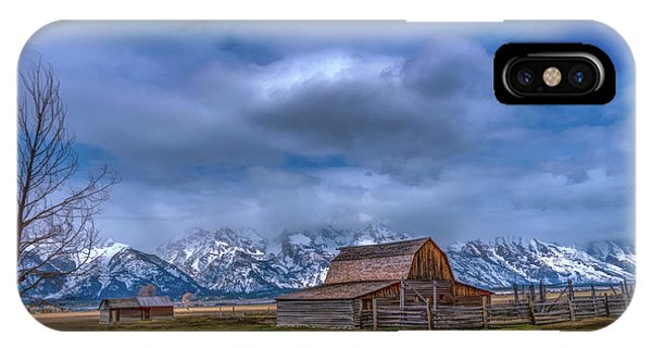 Teton National Park Mormon Row IPhone Case