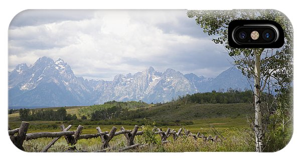 Teton Ranch IPhone Case
