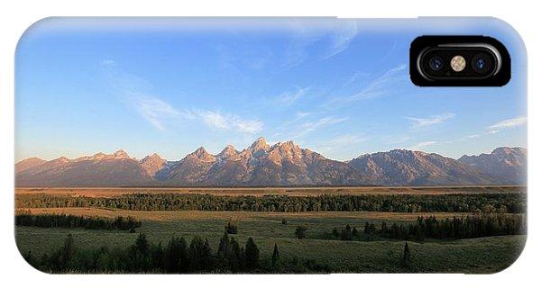 Teton Range After Sunrise IPhone Case