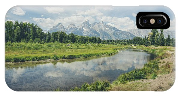 Teton Reflections IPhone Case