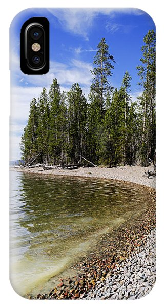 Teton iPhone Case - Teton Shore by Chad Dutson