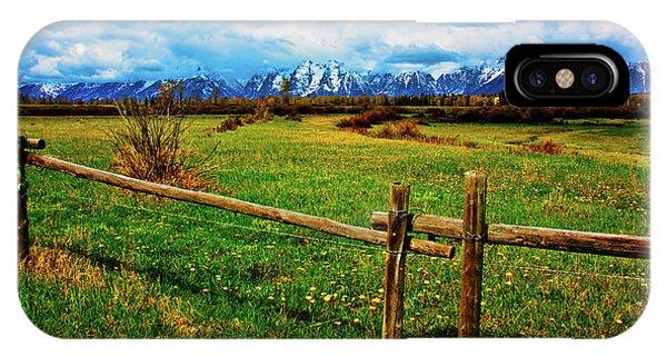 Teton Spring IPhone Case