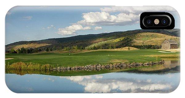 Teton Springs IPhone Case