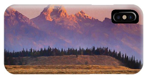 Teton Sunrise IPhone Case