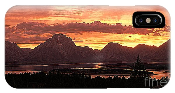 Teton Sunset IPhone Case