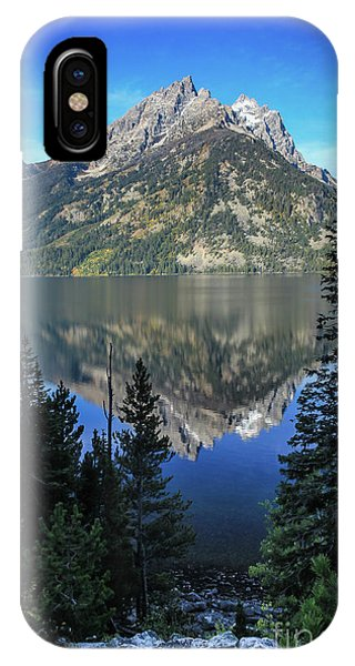Tetons National Park Phone Case by Webb Canepa
