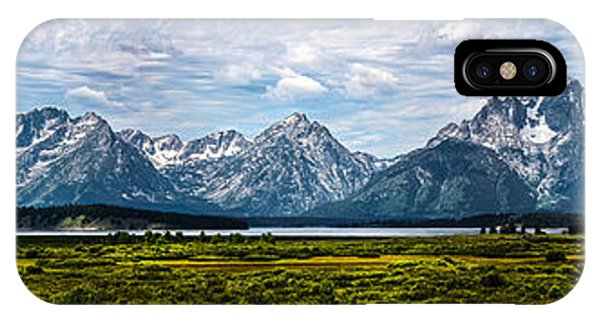 Tetons - Panorama IPhone Case
