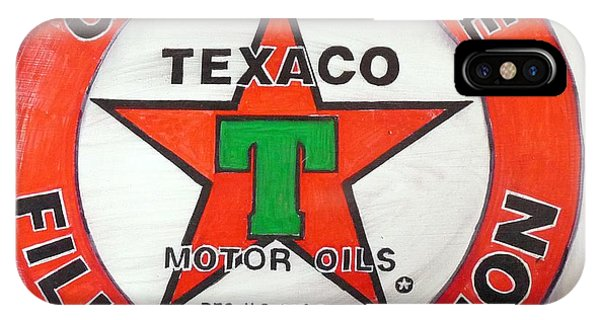 Texaco Sign IPhone Case