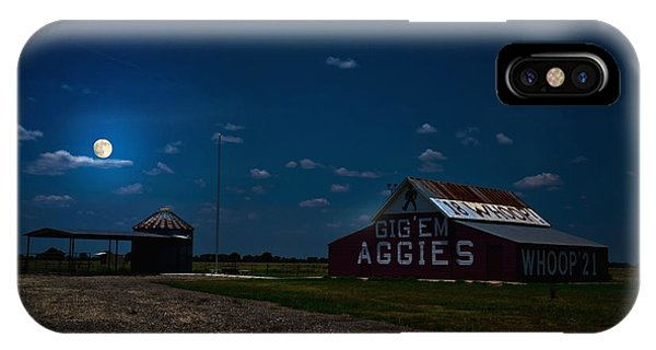 Aggie iPhone Case - Texas Aggies by Linda Unger