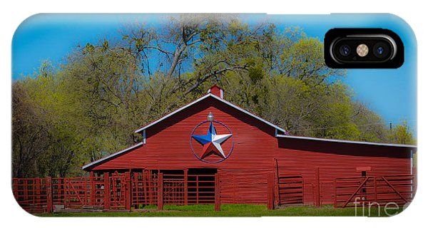 Texas Barn IPhone Case