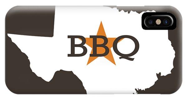 Kitchen iPhone Case - Texas Bbq by Nancy Ingersoll