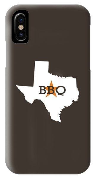IPhone Case featuring the digital art Texas Bbq by Nancy Ingersoll