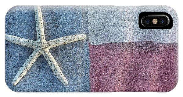 Texas Beach Flag IPhone Case