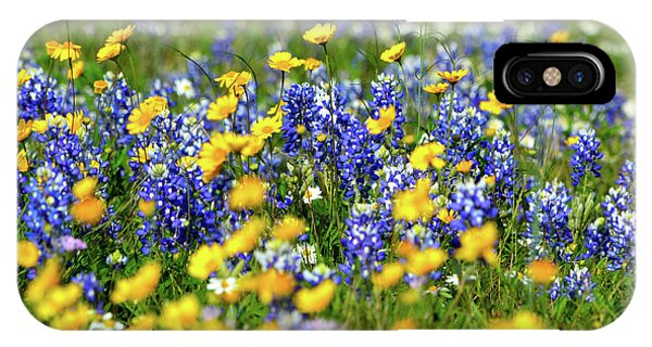 Texas Blue Bonnet  IPhone Case