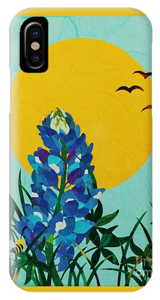 Texas Bluebonnet IPhone Case