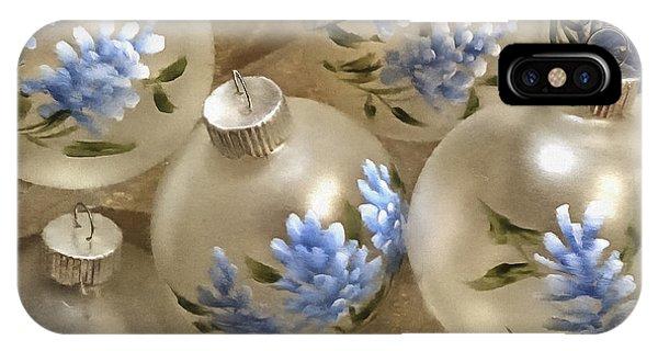 Texas Bluebonnet Ornaments IPhone Case