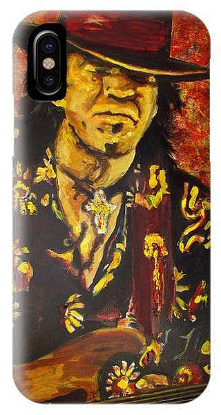 Texas Blues Man- Srv IPhone Case