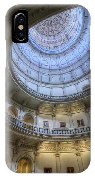 Texas Capitol Dome Interior IPhone Case