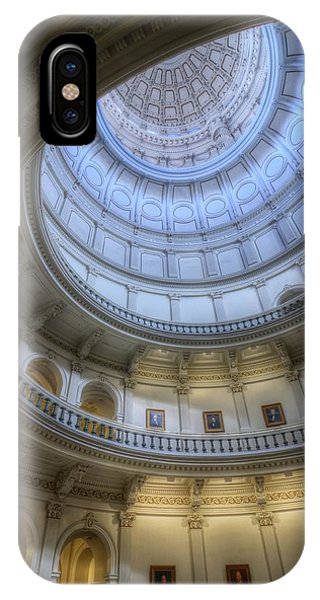 Texas Capitol Dome Interior IPhone Case